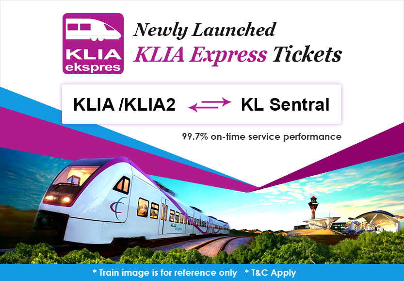 KLIA Express is Available Now on Easybook