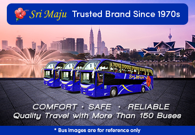 Sri Maju, one of the most trusted express bus brand across Singapore and Malaysia